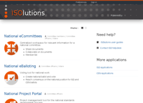 isolutions.iso.org