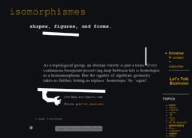 isomorphismes.tumblr.com