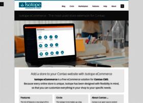 isotopeecommerce.com