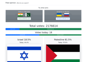 israel-vs-palestine.com
