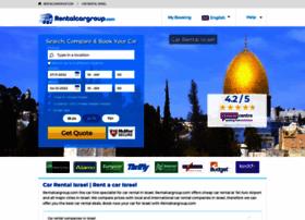 israel.rentalcargroup.com