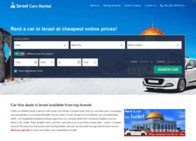 israelcarsrental.com