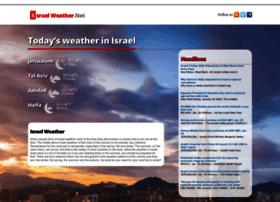 israelweather.net
