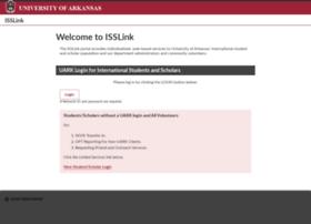 isslink.uark.edu