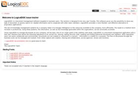 issues.logicaldoc.com