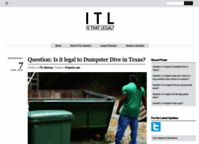 isthatlegal.org