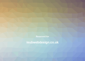 isubwebdesign.co.uk
