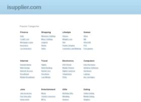 isupplier.com