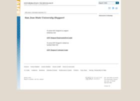 isupport.sjsu.edu