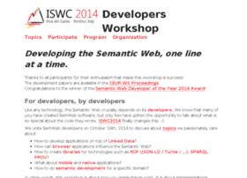 iswc2014.semdev.org