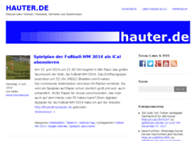 it-blog.hauter.de