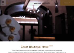 it.caratboutiquehotel.hu