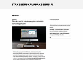 itakeskuskauppakeskus.fi