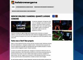 italiabrowsergame.com