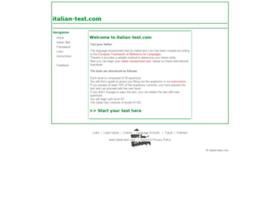 italian-test.com