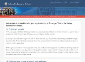 italianembassy-in-tehran.com