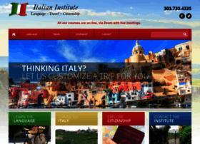 italianinstitute.com