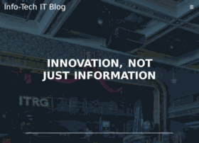 itblog.infotech.com