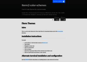 iterm2colorschemes.com