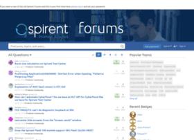 itestforums.spirent.com