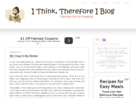 ithinkthereforeiblog.com
