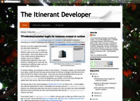 itinerantdeveloper.blogspot.com