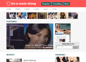 its-a-male-thing.visualfunnies.com