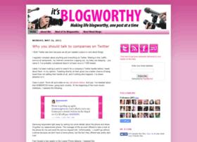 itsblogworthy.blogspot.com