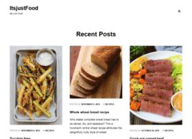 itsjustfood.net