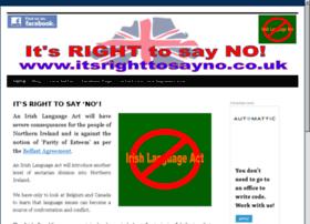 itsrighttosayno.co.uk