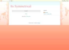 itssymmetrical.blogspot.com