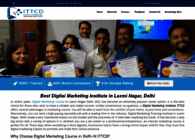 ittrainingcoursedelhi.in