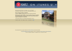 itunes.smu.edu
