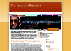 itunescomthevoice.blogspot.com
