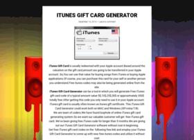 itunesgiftcardgenerator2015.wordpress.com