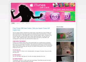 itunesgiftcardsforfree.blogspot.com