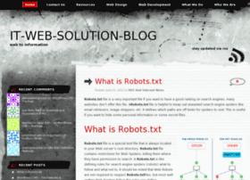 itwebsolutionblog.wordpress.com