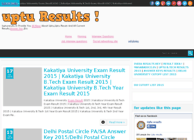 iupturesults.in