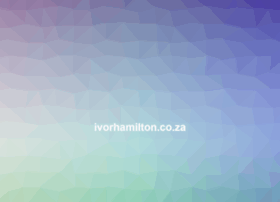 ivorhamilton.co.za