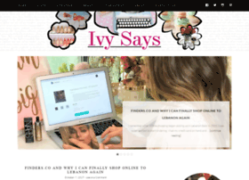 ivysays.com