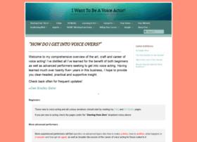 iwanttobeavoiceactor.com