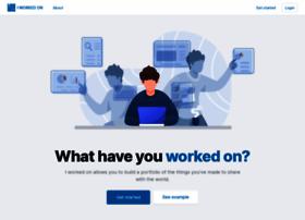 iworkedon.com