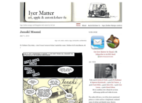 iyermatter.wordpress.com