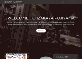 izakayafujiyama.com