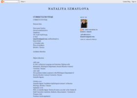 izmaylovacv.blogspot.de