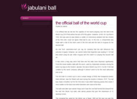 jabulaniball.com