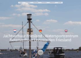 jachtverhuurfriesland.nl