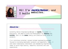 jackiebalzer.com