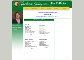 jacksoncountytaxcollector.com