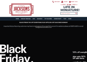 jacksonsmodels.co.uk